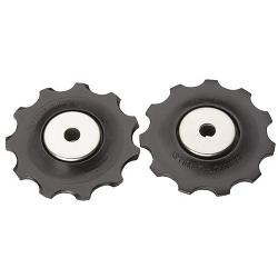 Image: SHIMANO PULLEY SET HIGH GRADE 10 SPEED ROAD / 9 SPEED MTN