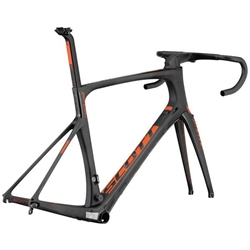 Image: SCOTT FOIL PREMIUM 2016 FRAMESET BLACK / ORANGE 56 CM