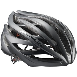 Image: BONTRAGER VELOCIS SHUT UP LEGS HELMET BLACK SMALL