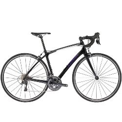 Image: TREK SILQUE S 6 2017 BLACK PEARL / CRYSTAL WHITE 56cm