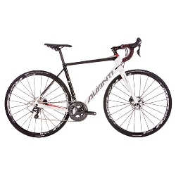 Image: AVANTI CORSA ER2 DISC 2018 WHITE / GREY / RED MEDIUM - 55.0