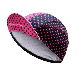Image: CHAPEAU! LIGHTWEIGHT CYCLE CAP POLKA DOT