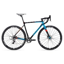 Image: GIANT TCX SLR 1 2017 BLACK MEDIUM