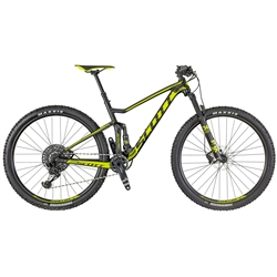 Image: SCOTT SPARK 940 2018 BLACK / FLUORO YELLOW LARGE