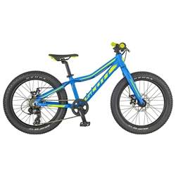 Image: SCOTT SCALE JR 20 PLUS 2018 BLUE / YELLOW