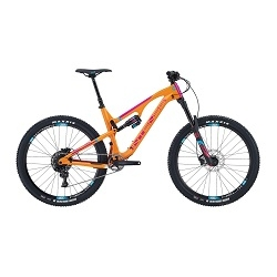 Image: INTENSE RECLUSE FOUNDATION BIKE ORANGE / MAGENTA LARGE