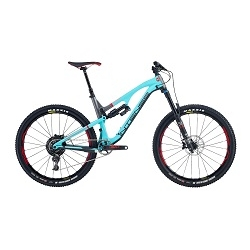 Image: INTENSE RECLUSE PRO BIKE TURQUOISE / GREY MEDIUM