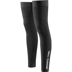 Image: MADISON SPORTIVE THERMAL LEG WARMERS BLACK XLARGE