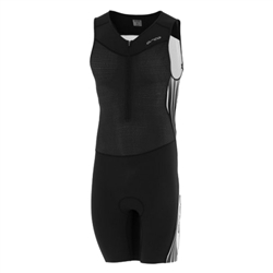 Image: ORCA 226 KOMPRESS RACE SUIT BLACK / WHITE SMALL