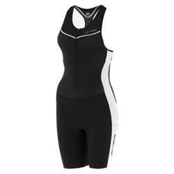 Image: ORCA 226 KOMPRESS RACE SUIT LADIES BLACK / WHITE MEDIUM