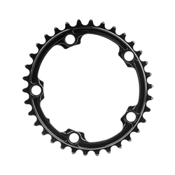 Image: ABSOLUTE BLACK  PREMIUM OVAL ROAD CHAINRING BLACK