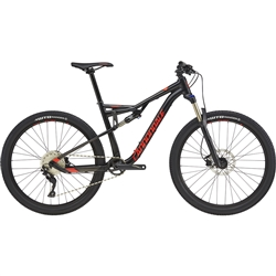 Image: CANNONDALE HABIT 6 2018 ANTHRACITE / ACID RED MEDIUM
