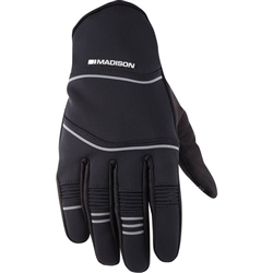 Image: MADISON ADDICT WINTER GLOVES BLACK SMALL