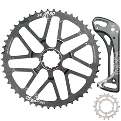 Image: ONEUP ONEUP SHARK TOOTH 50T / 18T SPROCKETS AND CAGE