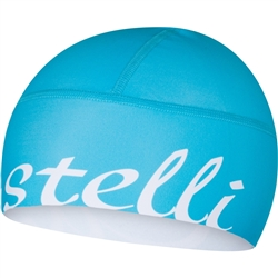 Image: CASTELLI VIVA DONNA SKULLY/HEADWARMER 4513563 TURQUOISE ONE SIZE