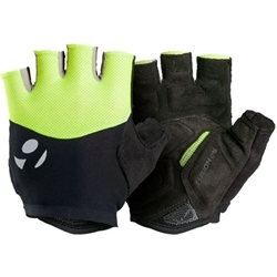 Image: BONTRAGER HALO GEL GLOVE MENS VISIBILITY YELLOW SMALL