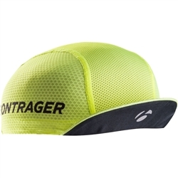 Image: BONTRAGER HALO CYCLING CAP SUMMER VISIBILITY YELLOW ONE SIZE