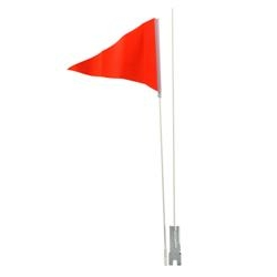 Image: GENERIC SAFETY FLAG 60 INCH LONG