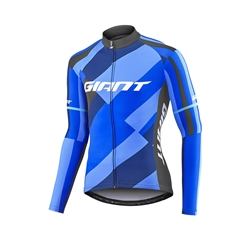 Image: GIANT ELEVATE LS THERMAL JERSEY