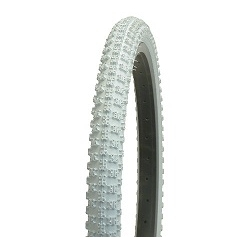 Image: GENERIC TYRE 12 INCH KNOBBY COMP 3 WHITE