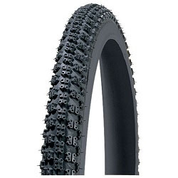 Image: BC TYRE 16 INCH KNOBBY BLACK