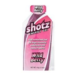 Image: SHOTZ ENERGY GEL WILDBERRY