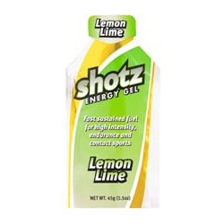 Image: SHOTZ ENERGY GEL LEMON/LIME