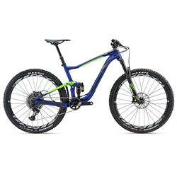 Image: GIANT ANTHEM ADVANCED 0 2018 ELECTRIC BLUE LARGE