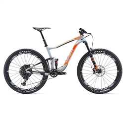 Image: GIANT ANTHEM ADVANCED 1 2018 GREY MEDIUM