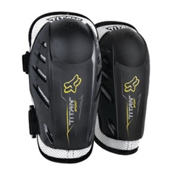 Image: FOX HEAD TITAN SPORT YOUTH ELBOW GUARDS BLACK ONE SIZE