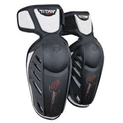 Image: FOX HEAD TITAN RACE YOUTH ELBOW GUARDS BLACK ONE SIZE
