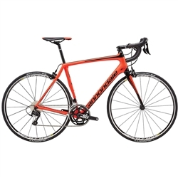 Image: CANNONDALE SYNAPSE CARBON 105 2017 RED / BLACK 56 CM