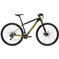 Image: CANNONDALE F-SI CARBON 4 2017 BLACK / FLUORO YELLOW MEDIUM