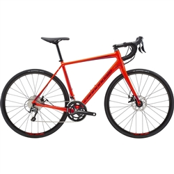 Image: CANNONDALE SYNAPSE ALLOY DISC TIAGRA 2019 ACID RED / RED 54 CM