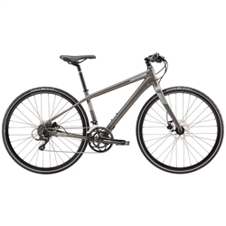 Image: CANNONDALE QUICK DISC 3 WOMENS 2018 ANTHRACITE SMALL