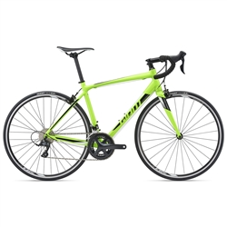 Image: GIANT CONTEND 1 2018 GREEN LARGE