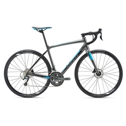 Image: GIANT CONTEND SL 2 DISC 2018 CHARCOAL SMALL