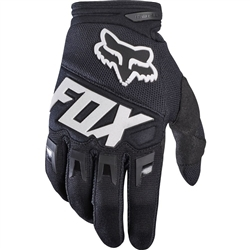 Image: FOX HEAD DIRTPAW YOUTH GLOVES BLACK Youth 2 Xsmall