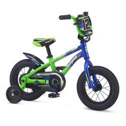 Image: MONGOOSE LILGOOSE 12 INCH BOYS 2019 BLUE / GREEN