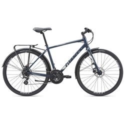 Image: GIANT CROSS CITY 2 EQUIPPED 2019 NAVY BLUE LARGE