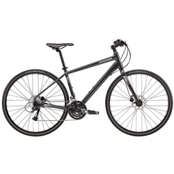 Image: CANNONDALE QUICK 5 DISC 2018 NEARLY BLACK LARGE