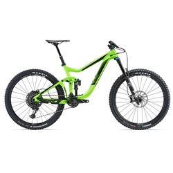 Image: GIANT REIGN ADVANCED 1 2018 NEON GREEN LARGE