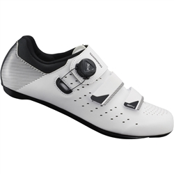 Image: SHIMANO RP4 SH-RP400 ROAD SHOES WHITE 44