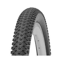 Image: ROCKET TYRE 12 INCH KNOBBY BLACK