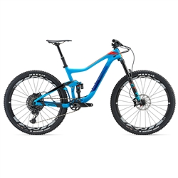 Image: GIANT TRANCE ADVANCED 1 2018 BLUE LARGE