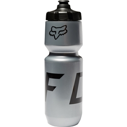 Image: FOX HEAD MOTH PURIST WATER BOTTLE 26OZ SILVER