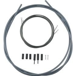 Image: SHIMANO ROAD OPTISLIK SHIFT CABLE SET GREY