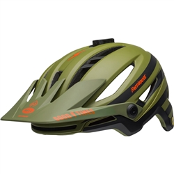 Image: BELL SIXER MIPS FASTHOUSE LTD HELMET GREEN / ORANGE LARGE
