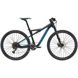 Image: CANNONDALE SCALPEL SI ALLOY 5 2018 BLACK / BLUE MEDIUM
