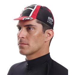 Image: ASSOS MILLE CAP EVO 8 NATIONAL RED ONE SIZE